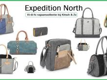 De nieuwe collectie tassen van hi di hi : de expedition north collectie