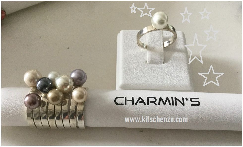 charmins ring xl met parel